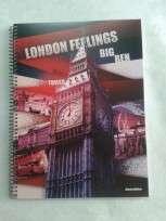Cuaderno Asamblea London Feeligns 29.7 Con Espiral x 80 Hjs. Rayado 63 Gr. Cod. 3AS600010000180312