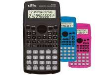 Calculadora Cifra Cientifica SC  820 Color Azul Cod. Sc-820/A