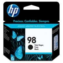 Cartucho Hewlett Packard  98 (C9364WL) Negro 11 Ml. P/Deskjet 5940/Photosmart 8050/Psc 2575 Cod. Ci-Hp-936400