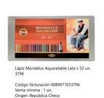 Lapices De Colores Koh-I-Noor Mondeluz x 32 Largos Acuarelables En Lata Cod. 089071033796