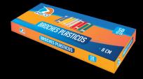 Broche Ezco Tipo Nepaco Plastico 8 Cms. Caja x 50 Unid. Cod. 305033