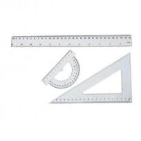 Juego Geometrico Geo/ Ito Escuelita x 3 Piezas En blister Cod.8401202901