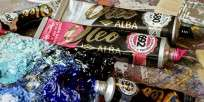 Oleo Alba Estuche Colores Surtidos - 10 x 18 Ml. + 1 Bastidor 40 x 50 Textura Fina de Regalo Cod. 8150-997