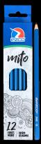 Lapiz Grafito Ezco Mito Cuerpo Plastico Hexagonal Nro. 2 Hb X 12 Unid.  Cod. 172001