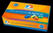 Sacapuntas Ezco Plastico x 24 Unid. Cod.  410034