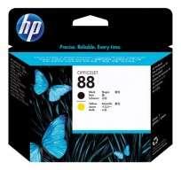 Cartucho Hewlett Packard  88 (C9381A) Negro Y Amarillo Cabezal P/Officejet Pro K550 Cod. Ci-Hp-938100