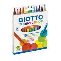 Marcador Escolar Giotto Turbo Color x 10 Unid. Cod. 040100Es