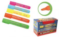 Resaltador Sakura Ten 125 Lila  Cod. 13100501055