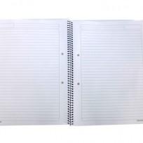 Cuaderno 29,7 con Espiral x 80 Hjs. Rayado Bulto x 40 Unid.-63 Gr. Cod.CUAP/29,7/RA/B
