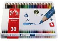 Lapices De Colores Caran Dache Fancolor x 30 Largos 1288-330 Cod. 08902528330