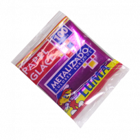 Papel Glace Luma Metalizado Taco x 100 Hjs.  Cod. 11-09
