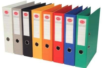 Bibliorato Util Of Forrado Plastico Esquela Lomo 75 Mm. Colores Surtidos Cod. S2860