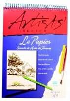 Block Le Papier Artist A5 Con Espiral 110 Grs. x 40 Hjs. Cod. 17410001007
