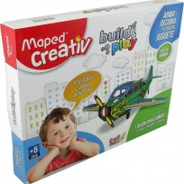 Juego Maped Build & Play- Avion Cod. 881205