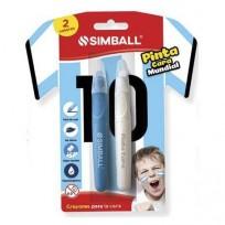 Crayon Simball Pinta Cara Blister X 2 Unid. Cod.0240009912