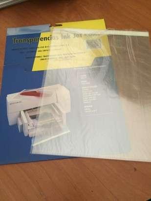 Transparencia Inkjet A4 Con Banda Bulto x 1000 Unid. Cod. Tr/1000