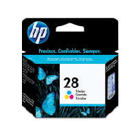 Cartucho Hewlett Packard  28 (C8728AL) Tricolor 9 Ml. P/Deskjet 3300/3400 Cod. Ci-Hp-872800