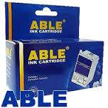 Cartucho Able Alternativo Hewlett Packard  21  Negro 16 Ml. Cod. Ab-21