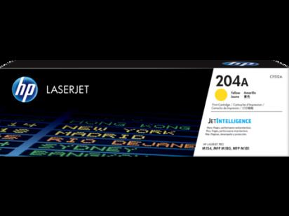 Toner Hewlett Packard 204A (CF512A) Amarillo P/M180 Cod. To-Hp-CF512A