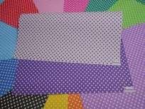 Cartulina Decorada Pinguino 50 X 70 120 Grs. Paq. X 10 Unid. Estrella Chica Violeta/Blanco Cod. 210673