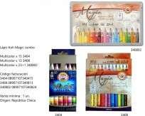 Lapiz Koh-Magic Jumbo X15 Unid. Multicolor Surtidas Cod. 08907107340415